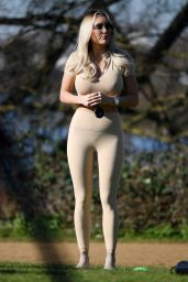 """Amber Turner - """"The Only Way is Essex"""" TV Show Filming 03/09/2021"""