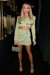 """Amber Turner - """"The Only Way is Essex"""" TV Show Filming in Essex 03/17/2021"""