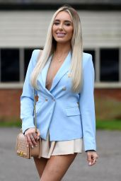 "Amber Turner – ""The Only Way is Essex TV Show Filming in Essex 03/28/2021"
