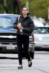 Amelia Hamlin – After Workout in West Hollywood 03/13/2021