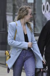 Angela Egan - Out in Manchester 03/20/2021