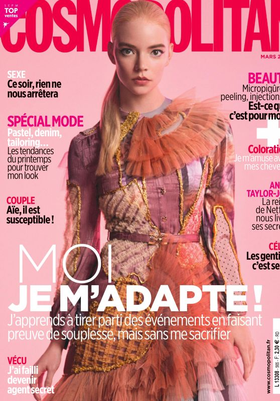 Anya Taylor-Joy - Cosmopolitan France March 2021 Issue