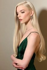 Anya Taylor-Joy - Dressed for the Golden Globes 2021