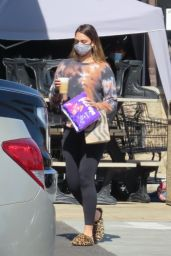 April Love Geary - Out in Malibu 02/28/2021