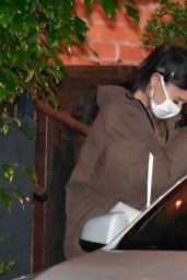 Ariana Grande - Leaving FIA Restaurant in Santa Monica 03/06/2021