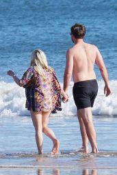 Ariel Winter at the Beach in Santa Barbara 02/27/2021