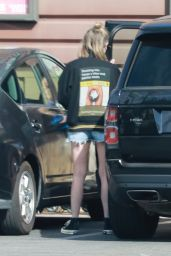 Ashley Benson in a Daisy Dukes - Los Feliz 03/08/2021