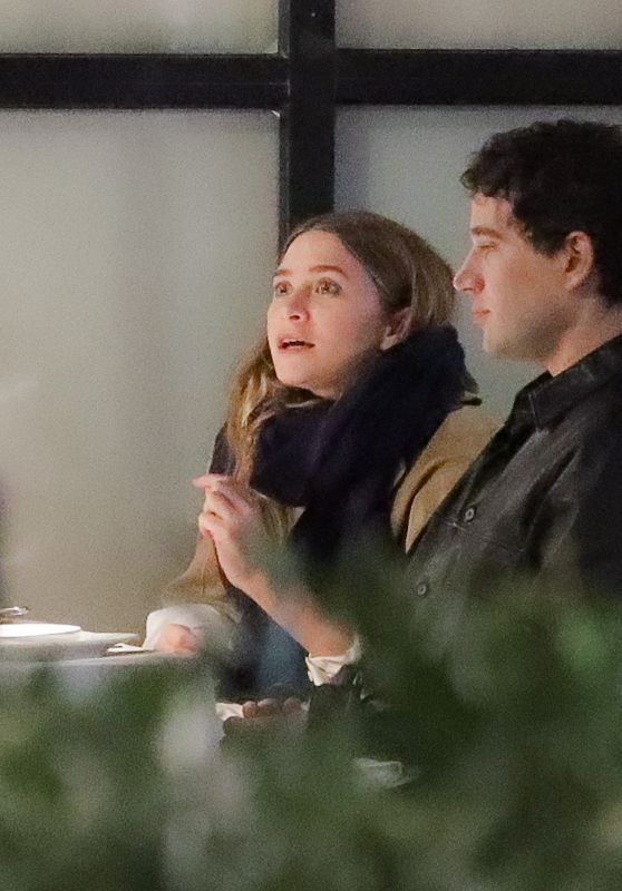Ashley Olsen and Louis Eisner - Double Date Night Dinner in NY 03/14/2021