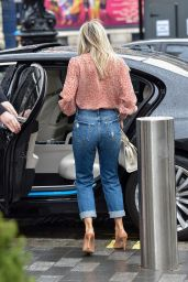 Ashley Roberts in Ripped Jeans - London 03/08/2021