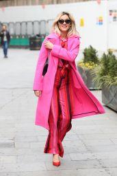 Ashley Roberts - Leaving Global Studios in London 03/01/2021