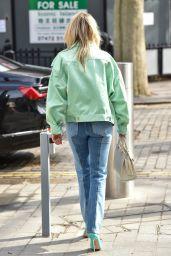 Ashley Roberts Street Style - London 03/16/2021
