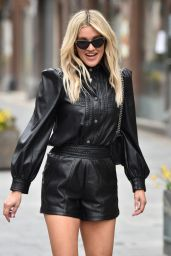 Ashley Roberts Wearing River Island Outfit and ASOS Heels 03/23/2021