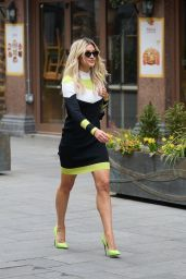 Ashley Roberts Wears an Outfit by Karen Millen 03/02/2021
