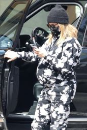 Ashley Tisdale in Comfy Tie-Dye Sweats - Beverly Hills 03/10/2021