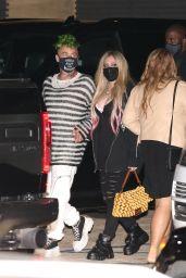 Avril Lavigne and Modsun at Nobu Malibu 03/26/2021