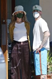 Behati Prinsloo - Out in Montecito 03/21/2021