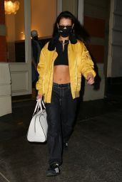 Bella Hadid - Out in New York 03/10/2021