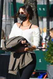 Bella Hadid Street Style  Heads to Lunch at Bar Pitti in NY 03/09/2021