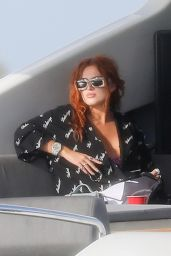 Bella Thorne on a Boat in Miami Beach 03/11/2021