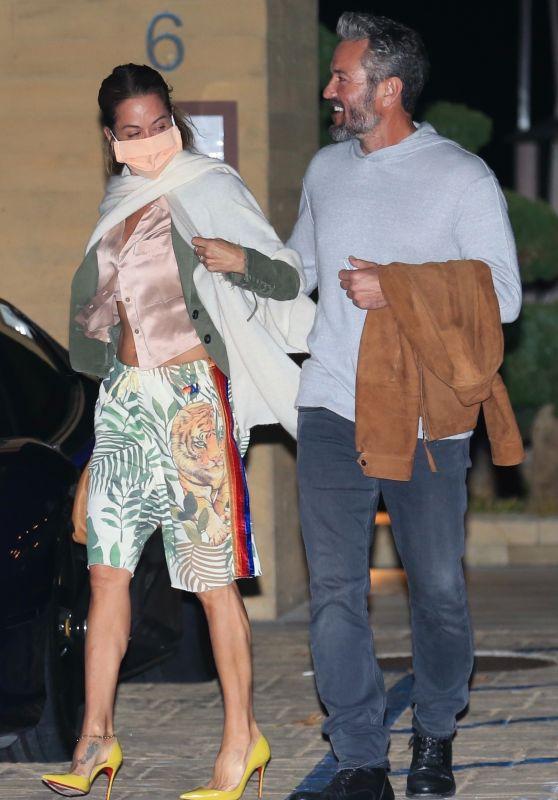 Brooke Burke and Boyfriend Scott Rigsby - Malibu 03/21/2021