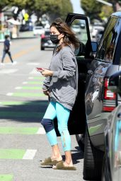 Brooke Burke in Casual Outfit 03/26/2021