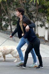 Camila Cabello and Shawn Mendes - Near Their Home in LA 03/21/2021