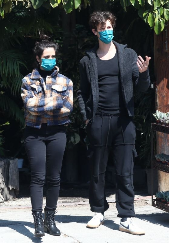 Camila Cabello and Shawn Mendes -Out in Los Angeles 03/13/2021