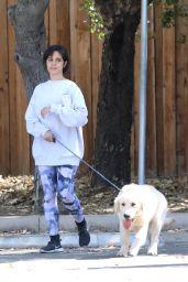 Camila Cabello - Walking Her Dog in LA 03/19/2021