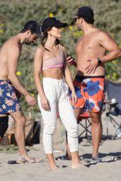 Camila Coelho - Beach in Santa Monica 03/28/2021
