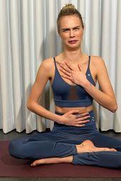 Cara Delevingne - Puma X Cara Delevingne New Eco-Conscious Yoga Collection 2021 (Part II)