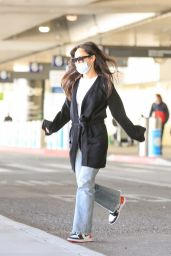 Cara Santana - Arrive at LAX in LA 03/15/2021