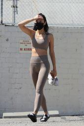 Cara Santana in Tight Workout Gear - Santa Monica 03/22/2021