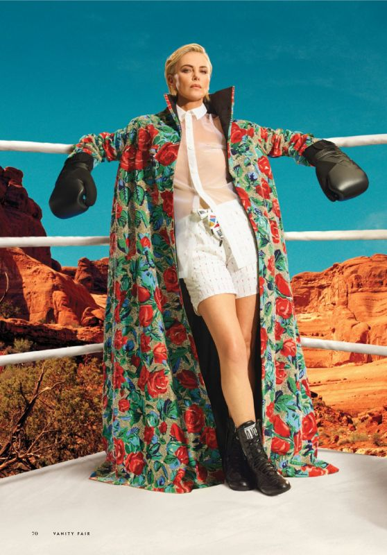 Charlize Theron - Vanity Fair USA Hollywood 2021