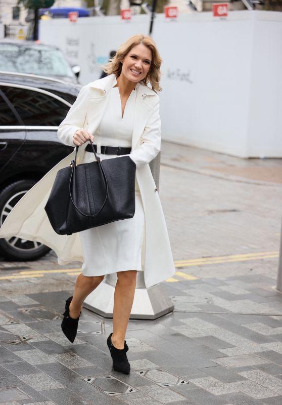 Charlotte Hawkins Cute Style - London 03/12/2021