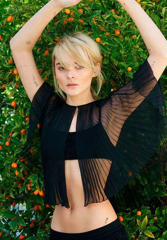 Charlotte Lawrence - Photoshoot for Crash Magazine March 2021