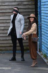 "Chloe Brockett  - ""The Only Way is Essex"" TV Show Filming in Essex 03/14/2021"