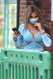 Chloe Ferry - Visiting Her New Shop in Newcastle 03/02/2021