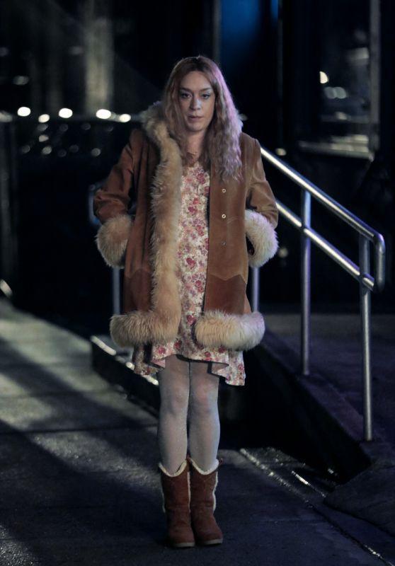 "Chloe Sevigny - Filming ""Russian Doll"" in New York 03/12/2021"