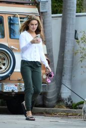 Chrishell Stause - Out in Los Angeles 03/10/2021