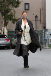 Chrissy Teigen - Running Errands in Beverly Hills 03/15/2021