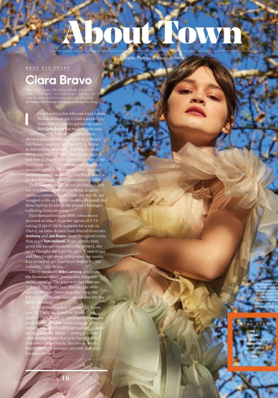 Ciara Bravo - The Hollywood Reporter 03/10/2021 Issue
