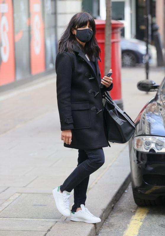 Claudia Winkleman at Wogan House in London 03/27/2021