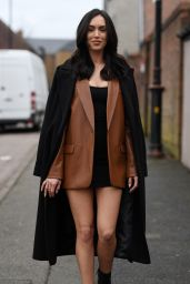 """Clelia Theodorou – """"The Only Way is Essex"""" TV Show Filming 03/07/2021"""