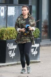 Coleen Rooney - Out in Cheshire 03/29/2021