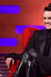 Daisy Ridley - Graham Norton Show in London 03/05/2021