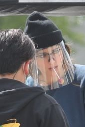 "Dakota Johnson - ""Am I Ok?"" Filming Set in LA 03/08/2021"