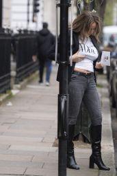 Danielle Mason - Out in London 03/17/2021