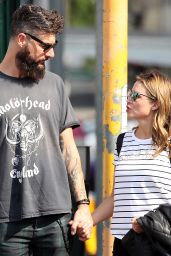 Dannii Minogue With Her Boyfriend Adrian Newman in Melbourne 03/22/2021