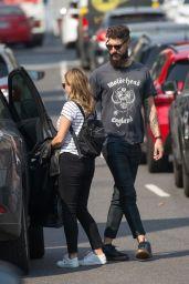 Dannii Minogue With Her Boyfriend Adrian Newman in Melbourne 03/22/2021