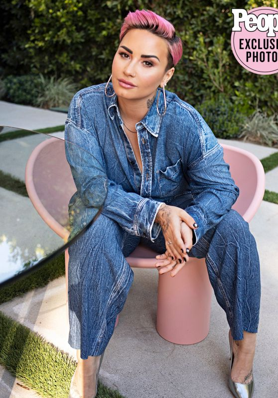 Demi Lovato - Photoshoot for People, March 2021